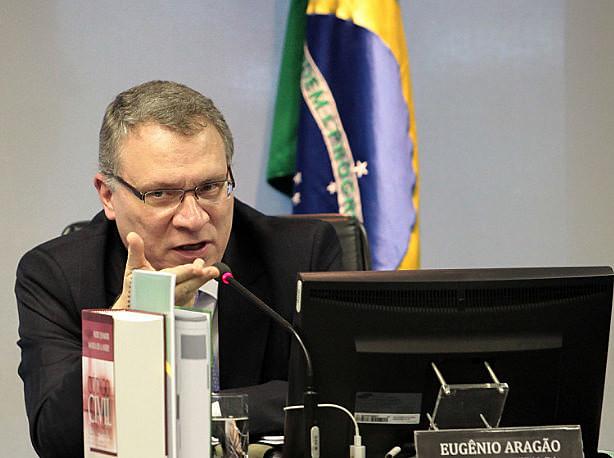 Eugênio Aragão fue ministro de Justicia en el gobierno de Dilma Rousseff, del Partido de los Trabajadores (PT)