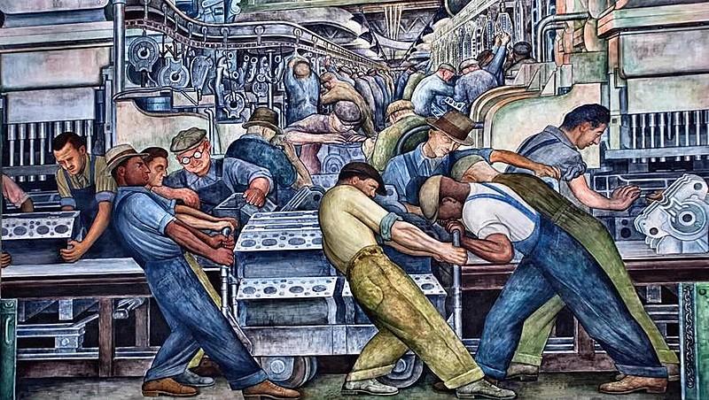 Detroit Industry Murals (1933)