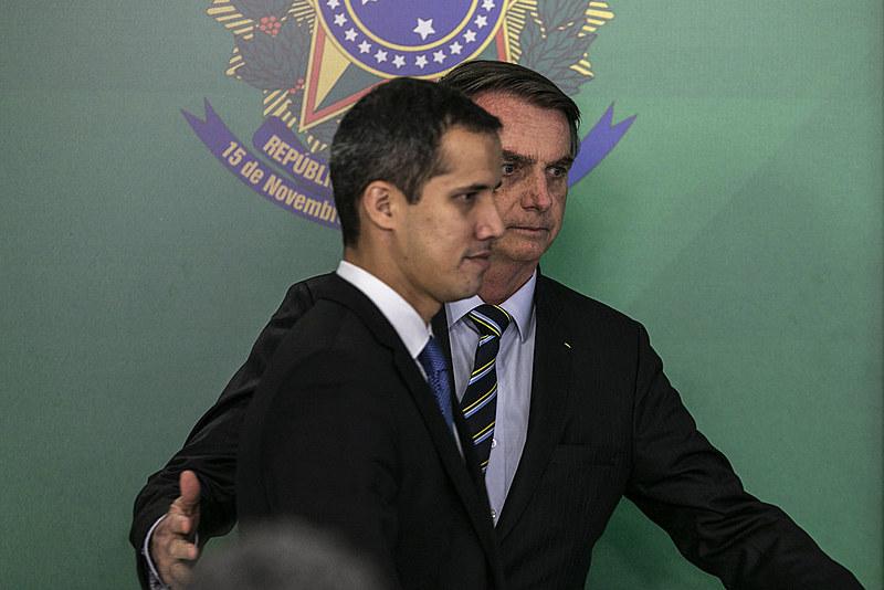 Cresce aliança de Bolsonaro com Juan Guaidó, oposição golpista da Venezuela