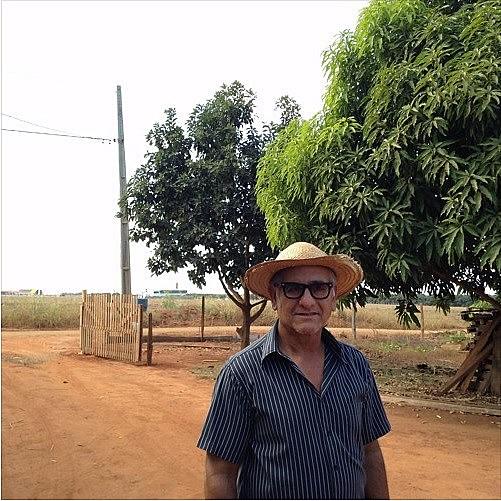 O produtor Julio Valêncio da Luz foi uma das vítimas da chuva de agrotóxico que atingiu  o município de Lucas do Rio Verde (MT), em 2006