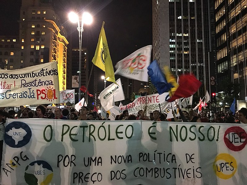 Refinarias da Petrobrasestão aperando com apenas 70% de sua capacidade de produção, algumas delas com não mais de 50%