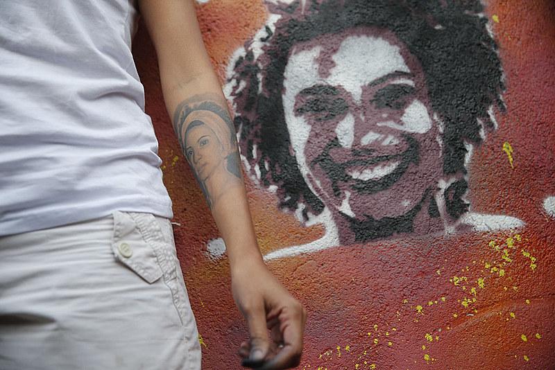 Marielle Franco e seu motorista Anderson Gomes foram assassinados no dia 14 de março de 2018, no Rio de Janeiro.
