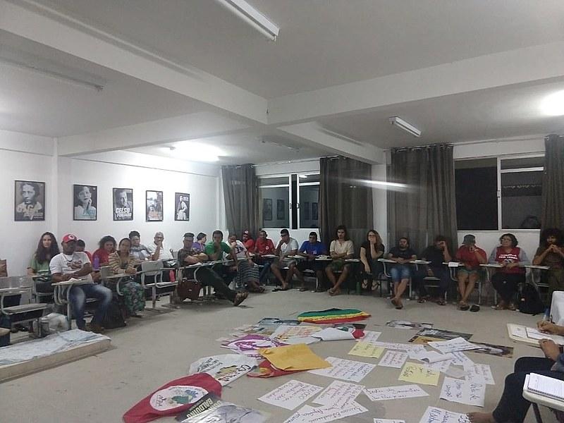 Curso acontece no Centro de Formação Elizabeth e João Pedro Teixeira, município de Lagoa Seca - PB