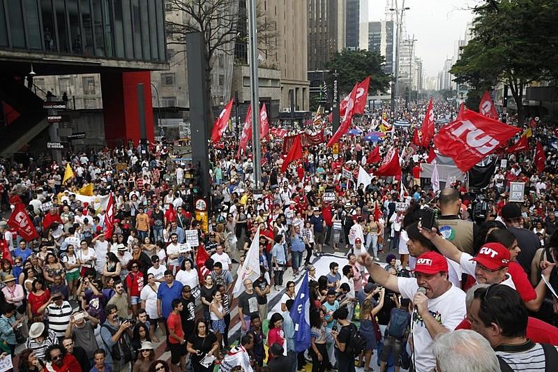 Protesto do dia 11/09. Na quinta, manifestação focará questões trabalhistas e previdenciárias