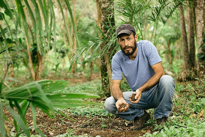 Acampamento ocupa parte da APA de Guaraqueçaba e desde 2003 concilia a produção de alimentos livres de agrotóxicos