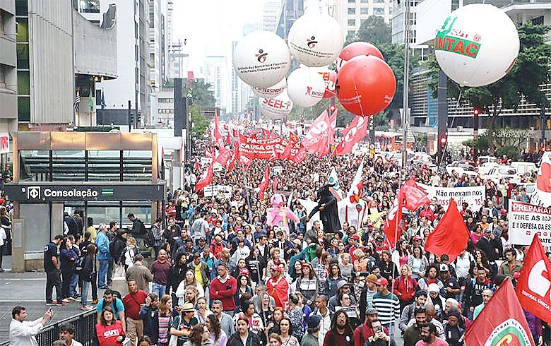 Na capital paulista, a mobilização terá marchas partindo de diversos pontos da cidade e todas convergindo na Praça da Sé