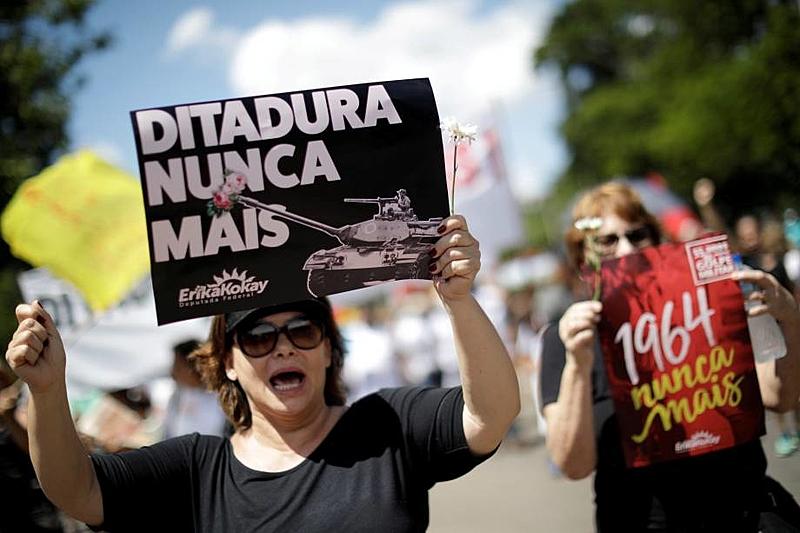 manifestação ditadura nunca mais