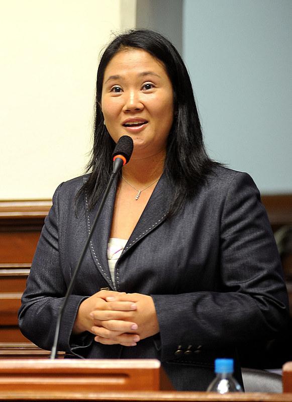 Keiko Fujimori é acusada de participar de um esquema de lavagem de dinheiro envolvendo a Odebrecht