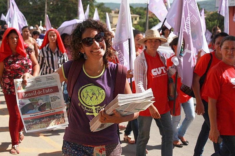"""O Brasil de Fato MG nasce, para publicar """"o lado de lá"""" - dos trabalhadores, dos movimentos populares e sindicais"""