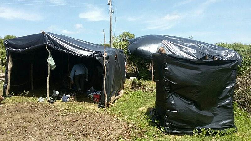 Famílias estavam acampadas no local, em Santana do Acaraú, há quatro anos