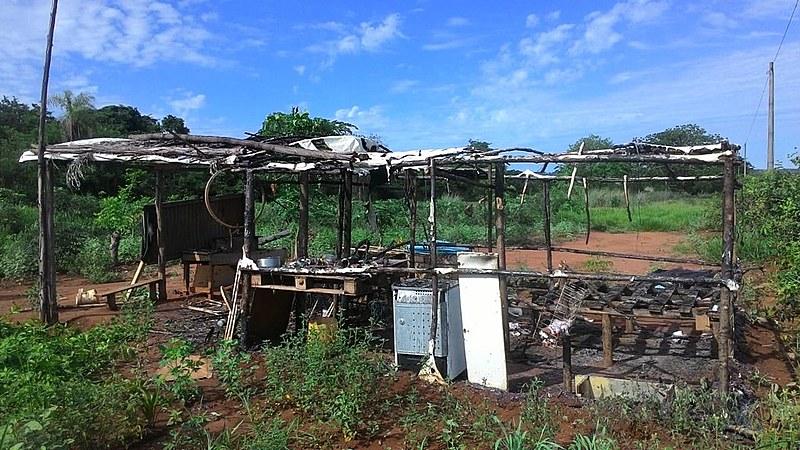 Acampamento Sebastião Bilhar é composto por 240 famílias