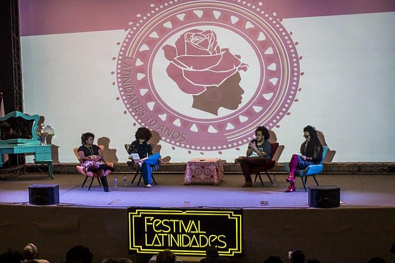 """Com dez anos, o """"Latinidades"""" é referência no continente, sendo considerado o maior festival de mulheres negras da América Latina"""
