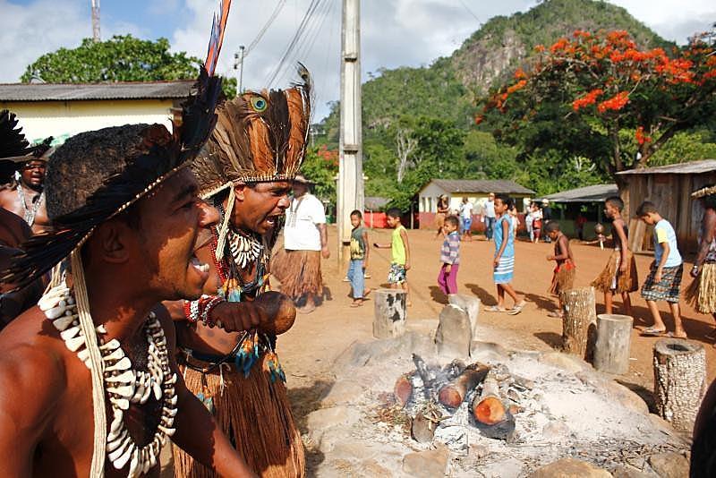 Cacique Babau, liderança da Terra Indígena Tupinambá de Olivença, localizada no litoral sul da Bahia