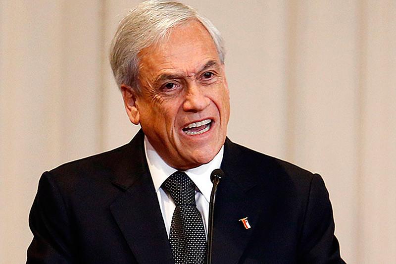 Empreiteiro multimilionário, Piñera está na presidência do Chile desde março do ano passado.