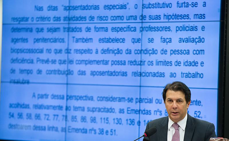 O deputado Arthur Oliveira Maia (PPS-BA) deu parecer sobre a Reforma da Previdência (PEC 287/16) nesta quarta-feira (19)