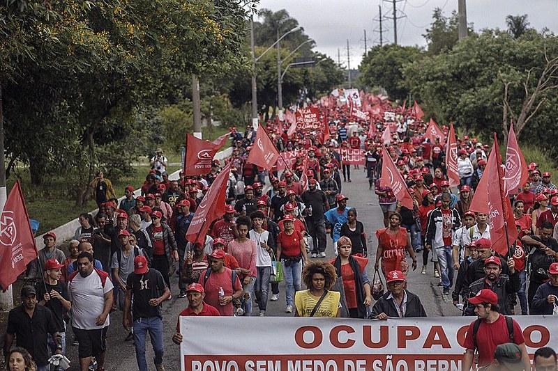 Ao todo, a marcha percorrerá 23 quilômetros entre São Bernardo do Campo e São Paulo.