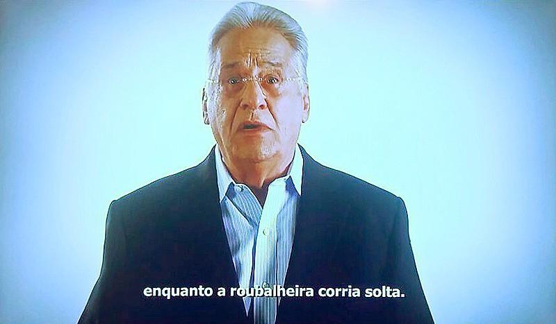 O ex-presidente fez duros ataques a Lula e ao PT nas últimas campanhas eleitorais do PSDB na TV