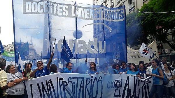 Universidades Públicas inician este 8 de mayo una jornada de lucha que cerrará con una Marcha Federal Universitaria.