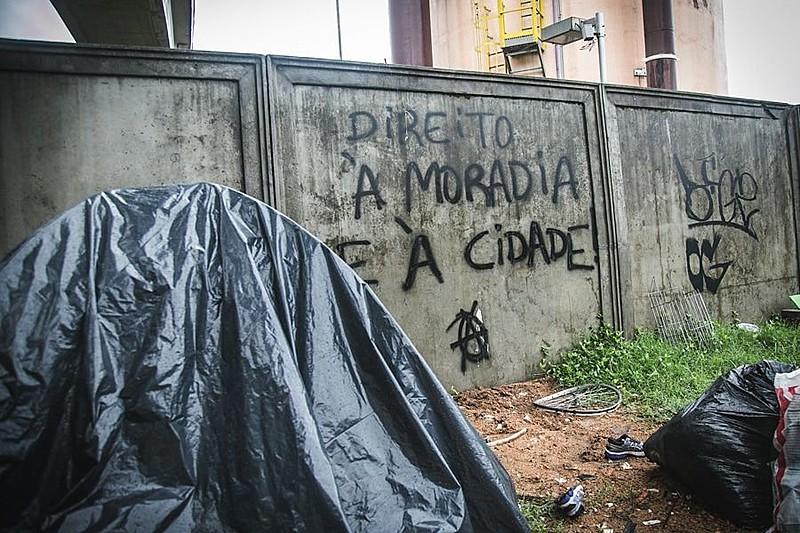 Em 2018, na capital gaúcha, a Ocupação Aldeia Zumbi dos Palmares foi uma das tantas que já se organizaram, até serem despejadas