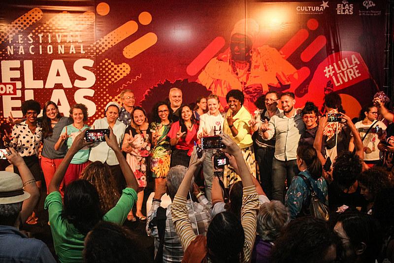 Evento reuniu diversas personalidades políticas e culturais do Brasil