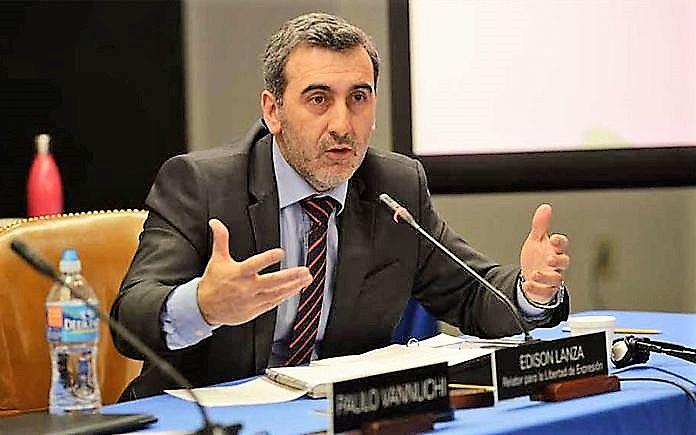 Edison Lanza é relator para a Liberdade de Expressão da Comissão Interamericana de Direitos Humanos da OEA