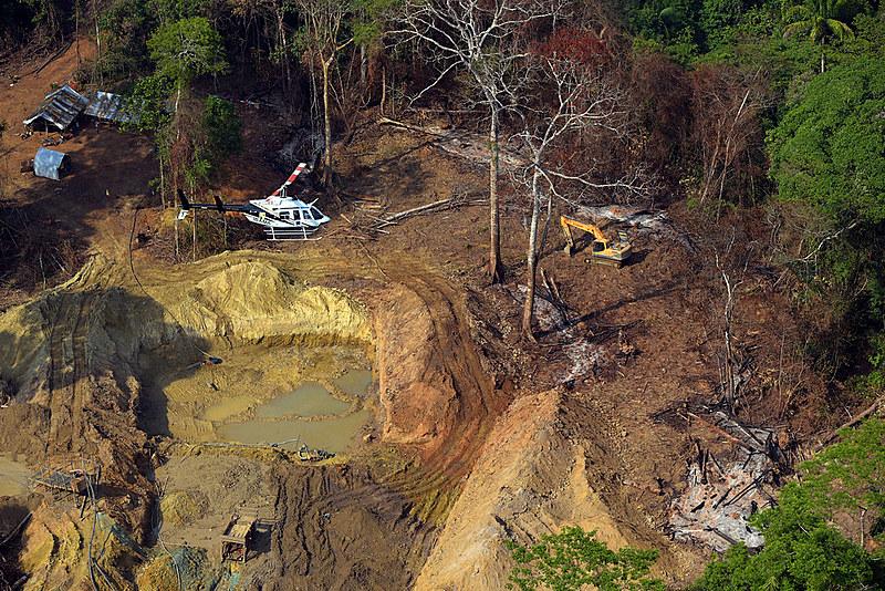 Pará Brasil Grupo Especializado de Fiscalização (GEF) do Ibama realiza operação de combate a garimpo ilegal na Terra Indígena Kayapó