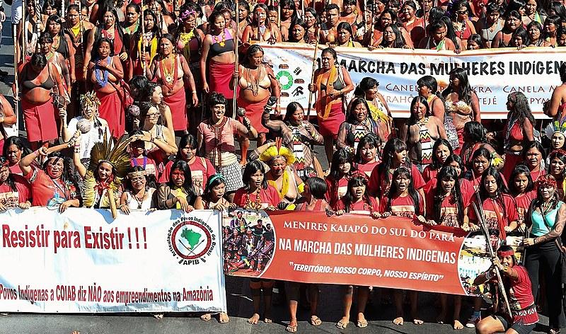 Marcha das Mulheres Indígenas tomou Brasília desde o dia 9