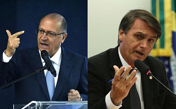 O candidato Bolsonaro está fortemente ligado ao projeto do PSDB