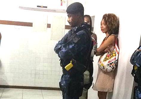 Ângela Guimarães foi detida pela Guarda Municipal de Salvador