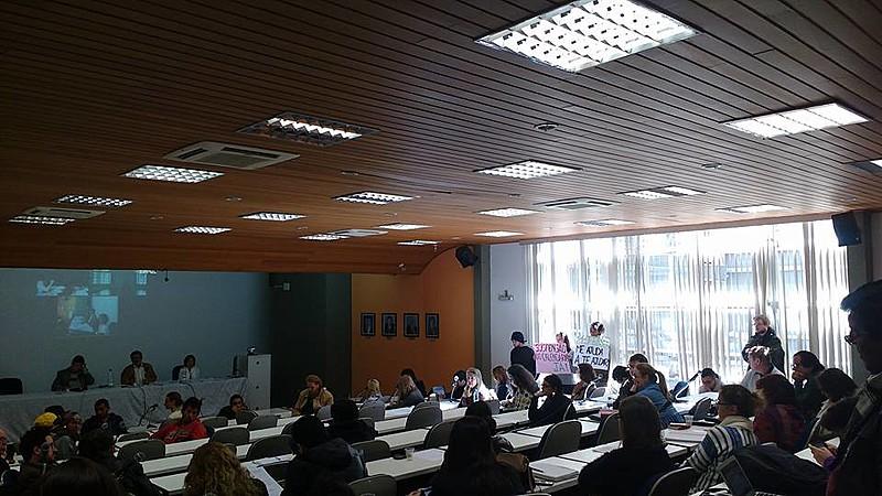 Reunião do Consuni definiu apoio aos estudantes grevistas da UFSCar