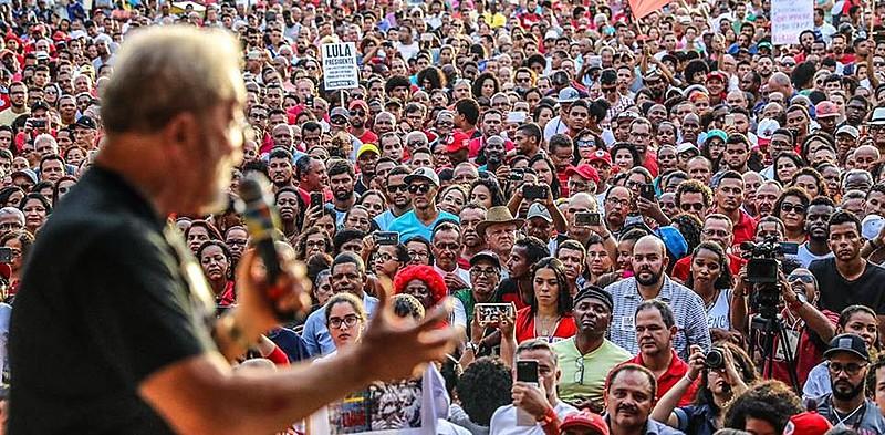 Lula discursa em Cruz das Almas (BA)