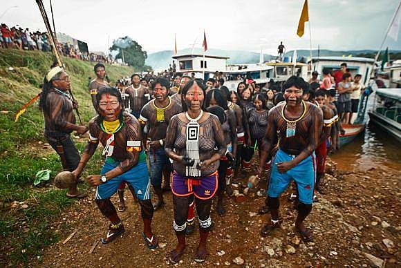 75% da população de pouco mais de 120 mil habitantes do município de São Félix do Xingu é indígena