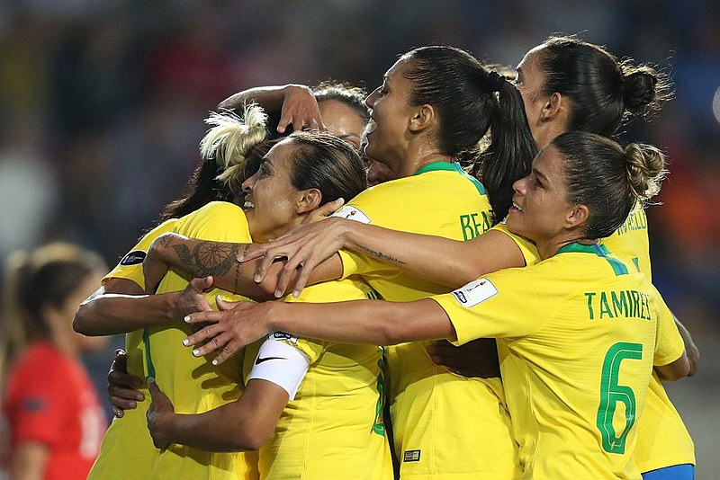 A seleção já disputou dois jogos na Copa do Mundo da França