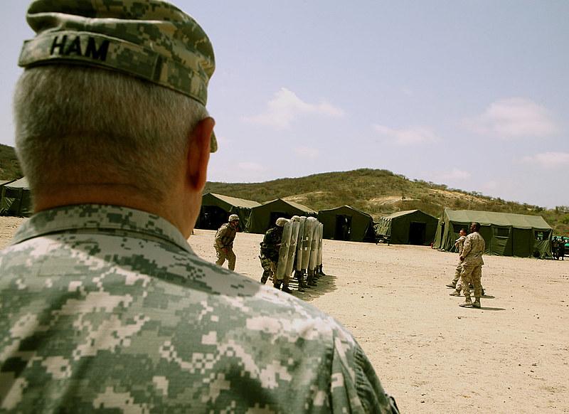 Em 2016, 17,26% de todas as Forças Especiais estadunidenses mandadas ao exterior foram dirigidas à África