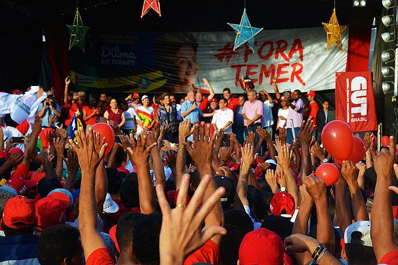 De acordo com movimento, cerca de 15 mil sem terra se reuniram na capital sergipana