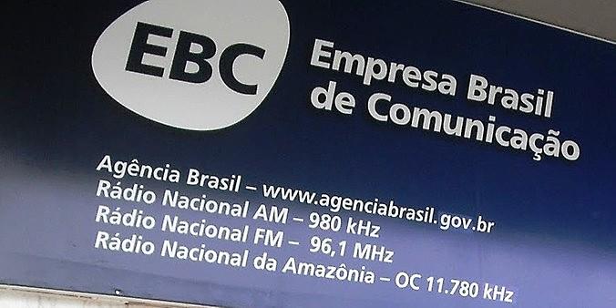Fachada do prédio da Empresa Pública de Comunicação