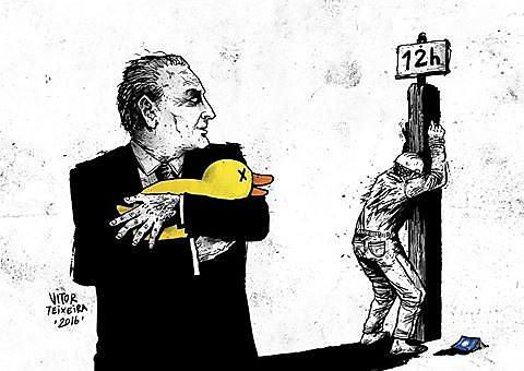 Depois de contar com apoio empresarial para tirar Dilma do poder, Temer quer limitar garantias previstas na CLT