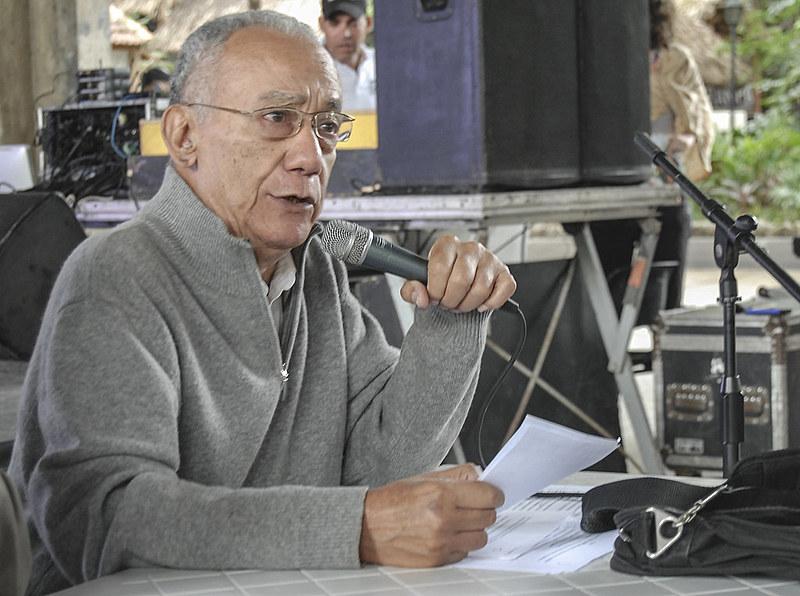 Em janeiro, o professor ministrou uma conferência no XII Encontro Internacional sobre Paradigmas Emancipatórios Berta Cáceres
