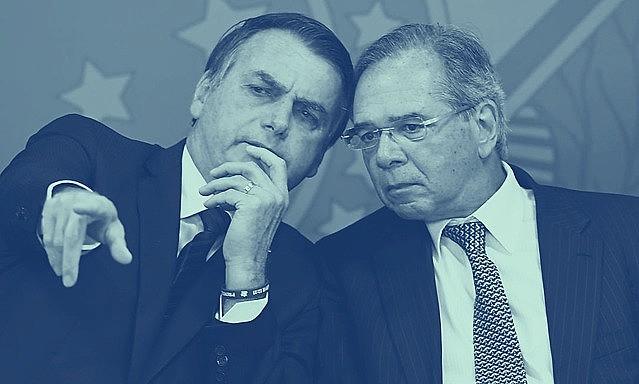 """Bolsonaro e o """"posto Ipiranga"""" Paulo Guedes: um ano de estagnação"""