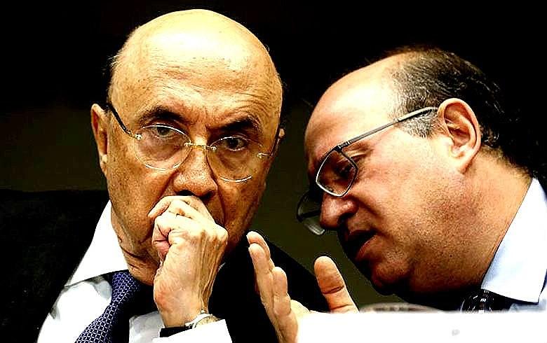 Ministro Henrique Meirelles e Ilan Goldfajn, presidente do Banco Central