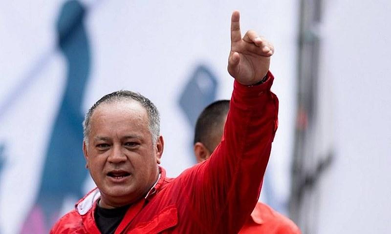 """Cabello alertou para os boatos criados pela oposição para desestabilizar Maduro: """"falsos positivos"""""""