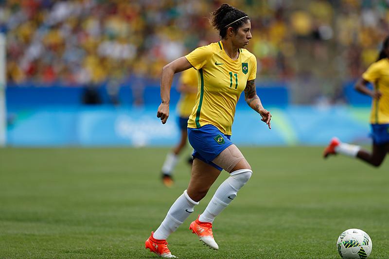 Cristiane, que marcou os três gols na estreia do Brasil na Copa, é uma das contempladas
