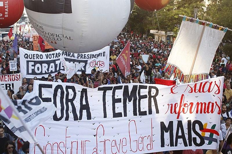 Movimentos se mobilizam, pela segunda vez em março, contra as reformas do governo Temer