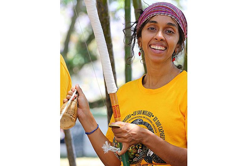 A mestra inaugurou um espaço para viver de cultura popular em Belo Horizonte