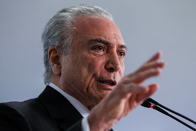Michel Temer é acusado de corrupção passiva pela Procuradoria Geral da República (PGR)