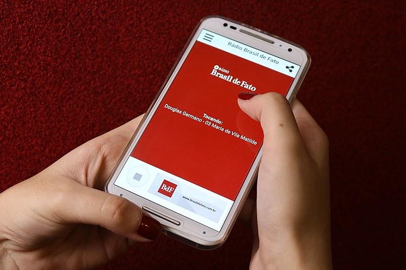 Conteúdo pode ser ouvido através do site ou do aplicativo do BdF, disponível no Google Play