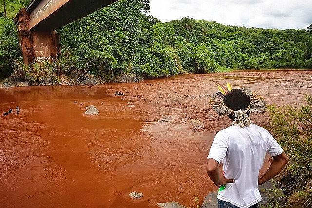 Estudo constatou que rio Paraopeba não possui mais condições de vida ou de uso após crime ambiental da Vale em Brumadinho