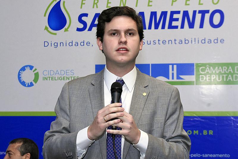 Enrico Misasi (PV-SP) é coordenador da Frente Parlamentar Mista em Defesa do Saneamento lançada nesta quarta-feira (30)