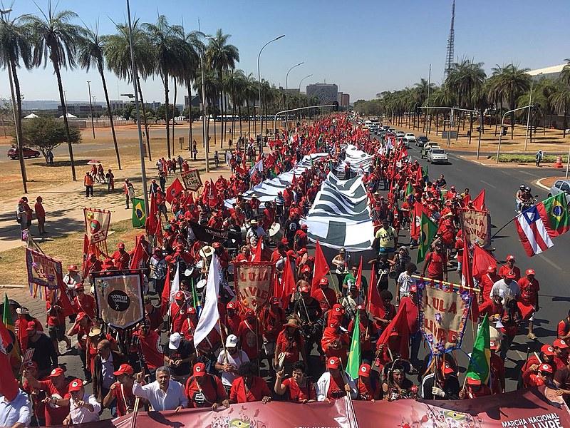 Ato durante protocolo da candidatura Lula está previsto para essa quarta-feira (15)