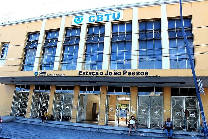 Prédio da CBTU - João Pessoa - cerca de 10mil pessoas transitam por dia